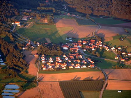 Luftbild von Neusath Juli 2007